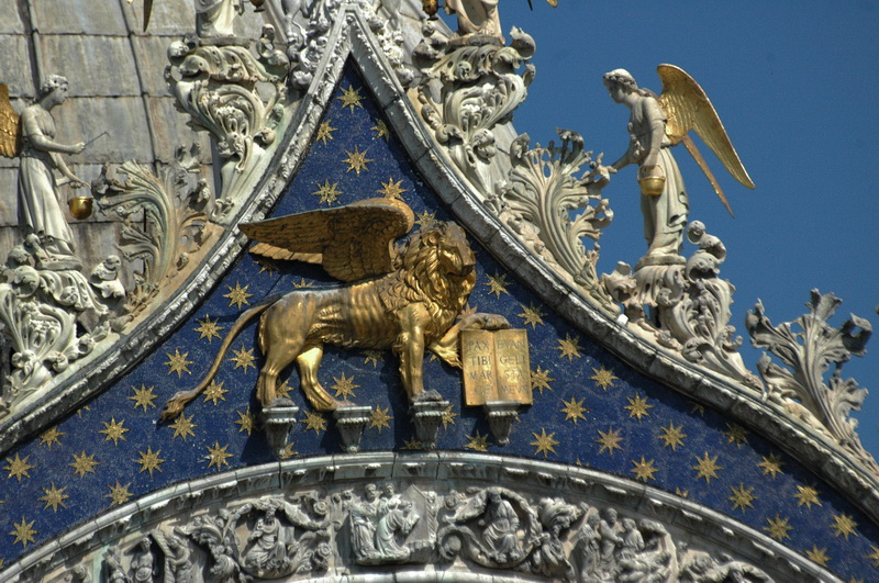 האריה הוא סמל העיר