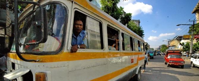 אוטובוס לילה – 18 שעות בין יאנגון לאינלה לייק