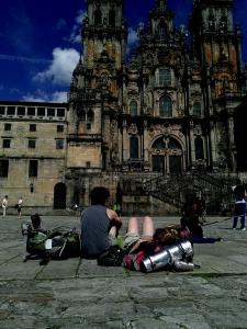 הקתרלה של סנטיאגו - ענקית! וישנה, מרשימה מאד.