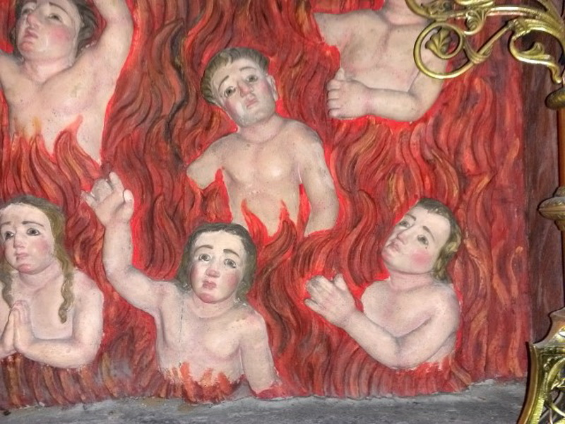 העונש לחוטאים..... להישרף באש. עדיף להיות טובים