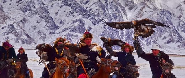 מונגוליה – פסטיבל העיט הזהוב