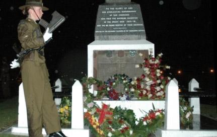 מצעד השחר לכבוד יום  ANZAC – המזרח התיכון נוגע בניו זילנד