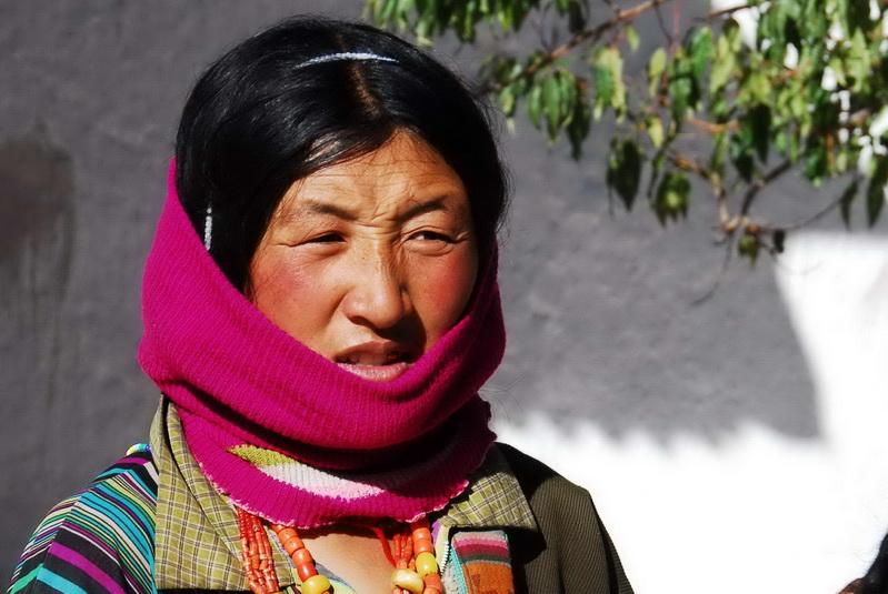 נשים טיבטיות בלהאסה