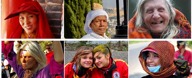נשים מן העולם – מפגשים אישיים עם נשים על פני הגלובוס.