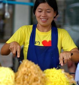 מאכלי רחוב בתאילנד