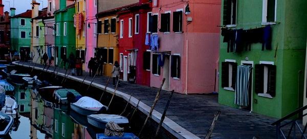 בוראנו, ליד ונציה, באיטליה