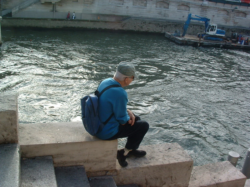פריס, לשבת על המים, על הסיין