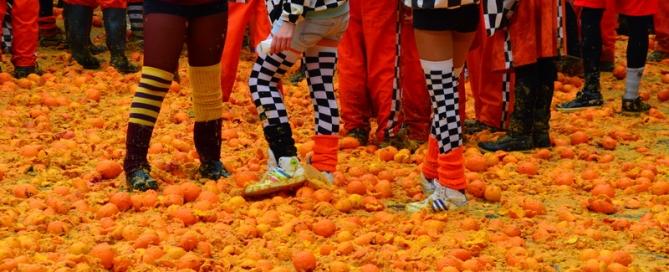 קרנבל התפוזים באיבראה – IVREA