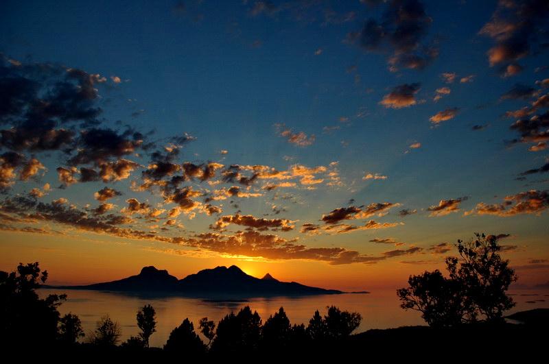שמש חצות נורווגיה בודו