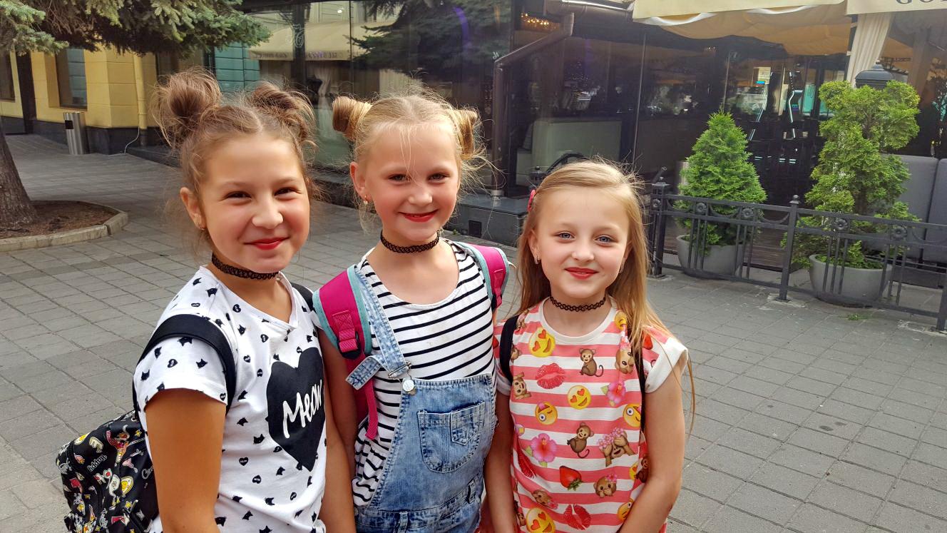 ילדות תמות באוקראינה