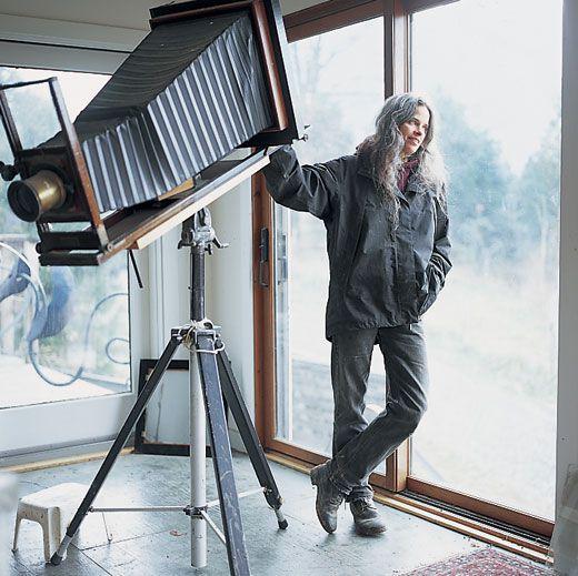 סאלי מאן מצלמה פורמט גדול